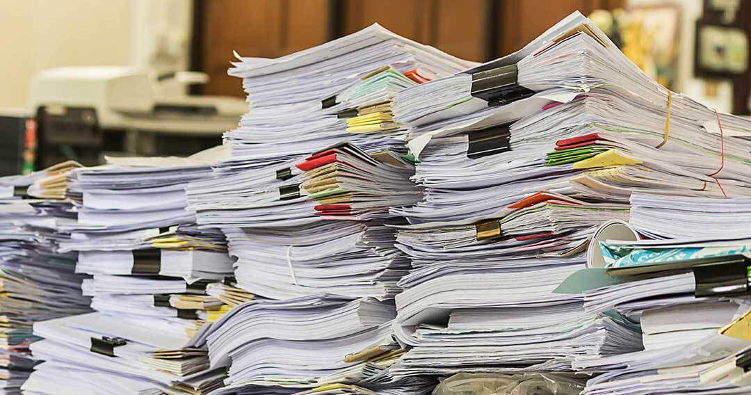 The ROI for Going Paperless