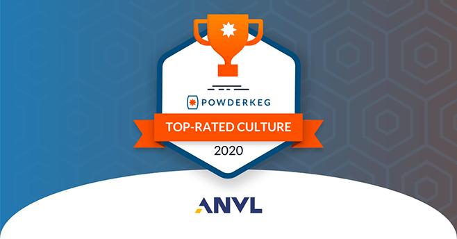 Anvl Selected as a Winner of Powderkeg's 2020 Tech Culture Awards
